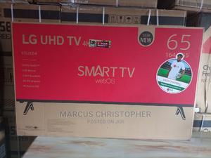 Original LG 65 Inches Smart TV at a Discounted Promo Price   TV & DVD Equipment for sale in Ogun State, Ado-Odo/Ota