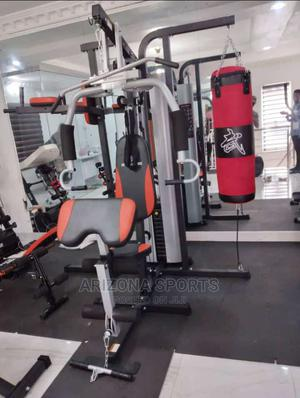 Multi Station Gym (4 Station Gym)   Sports Equipment for sale in Rivers State, Port-Harcourt