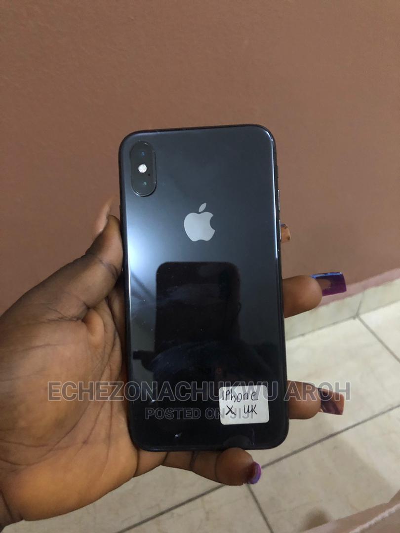 Apple iPhone X 64 GB Black   Mobile Phones for sale in Enugu, Enugu State, Nigeria