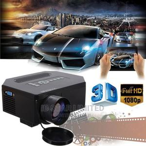 Multimedia 3D HD LED Projector USB VGA Compatible TV AV   Accessories & Supplies for Electronics for sale in Lagos State, Ajah