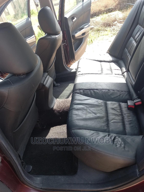 Archive: Honda Accord 2008 2.0 Comfort Red