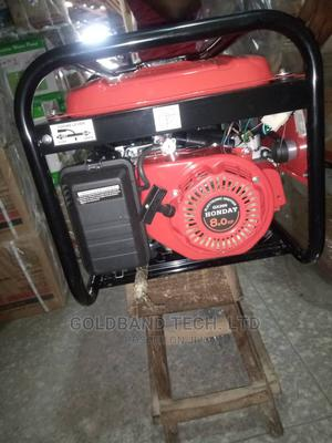 4.5kva Honday Petrol Generator With Key, Battery and Tyre | Electrical Equipment for sale in Lagos State, Ajah