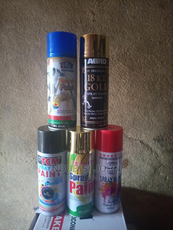 Archive: Spray Paint