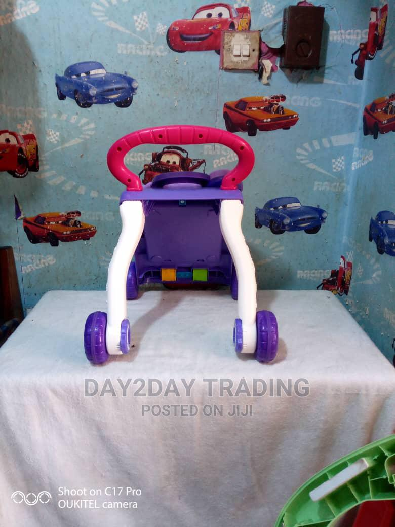 Tokunbo Uk Used Pushing Walker | Children's Gear & Safety for sale in Ikeja, Lagos State, Nigeria