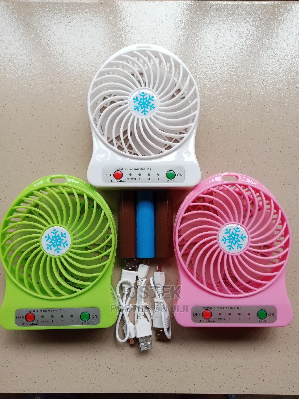 Rechargeable Mini Fan   Home Appliances for sale in Lagelu, Oyo State, Nigeria