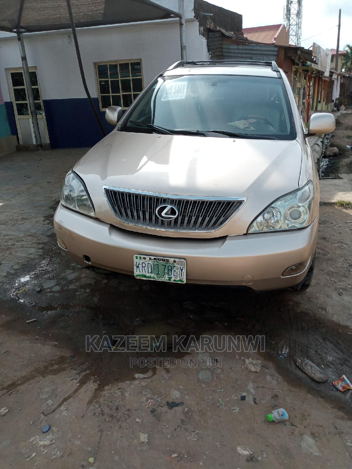 Lexus RX 2004 330 Gold | Cars for sale in Alimosho, Lagos State, Nigeria