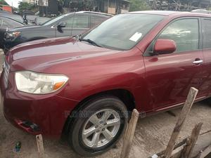 Toyota Highlander 2008 Red | Cars for sale in Lagos State, Apapa