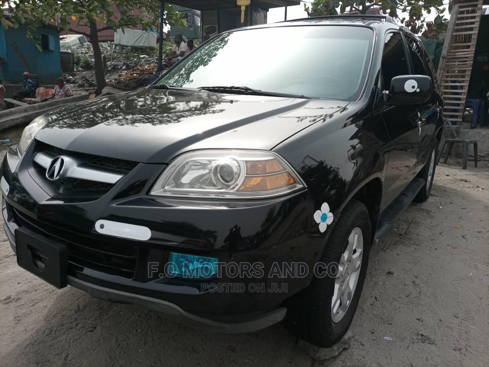 Acura MDX 2006 Black