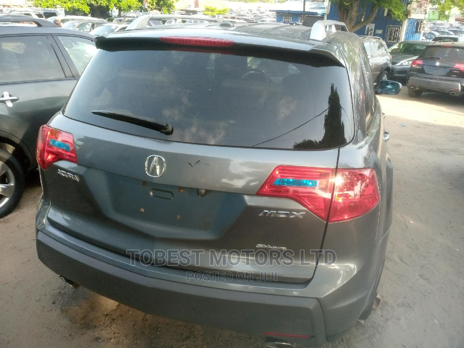 Archive: Acura MDX 2009 SUV 4dr AWD (3.7 6cyl 5A) Gray