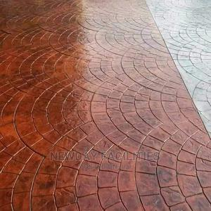 Quality Assurance Concrete Stamping Polishing Service   Landscaping & Gardening Services for sale in Lagos State, Lekki