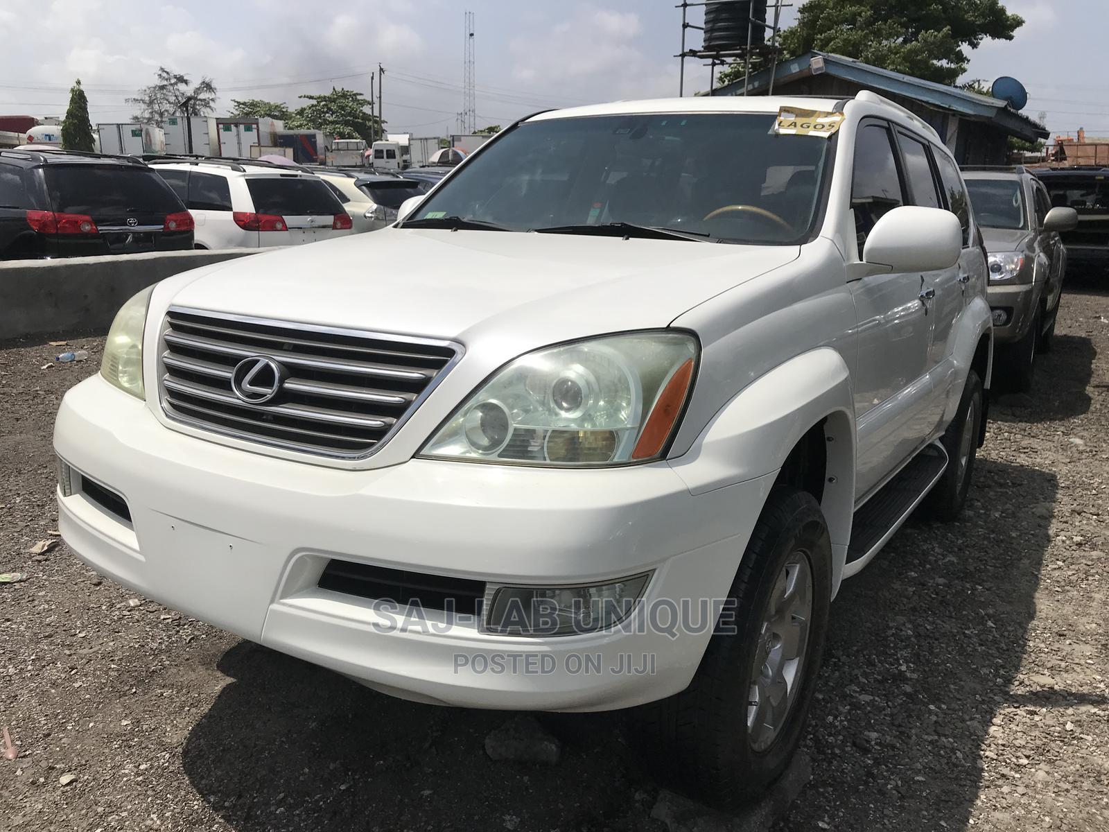 Lexus GX 2006 470 Sport Utility White | Cars for sale in Apapa, Lagos State, Nigeria