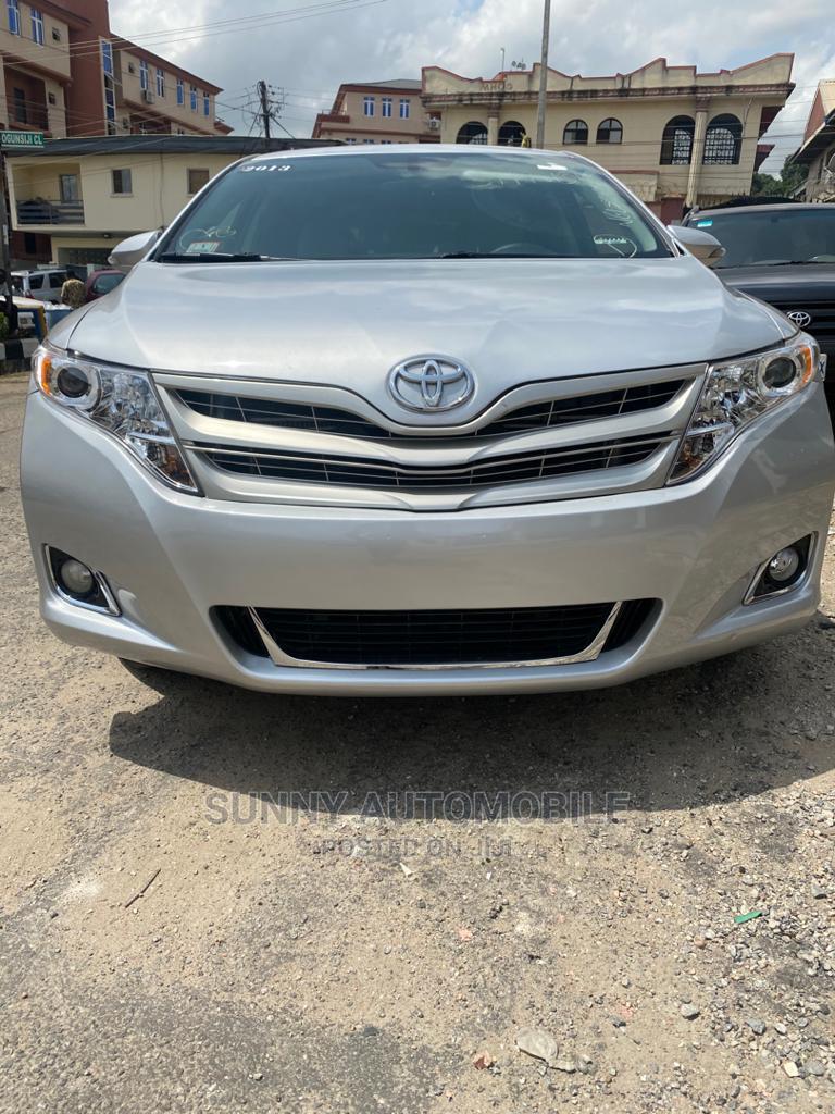 Toyota Venza 2013 Silver
