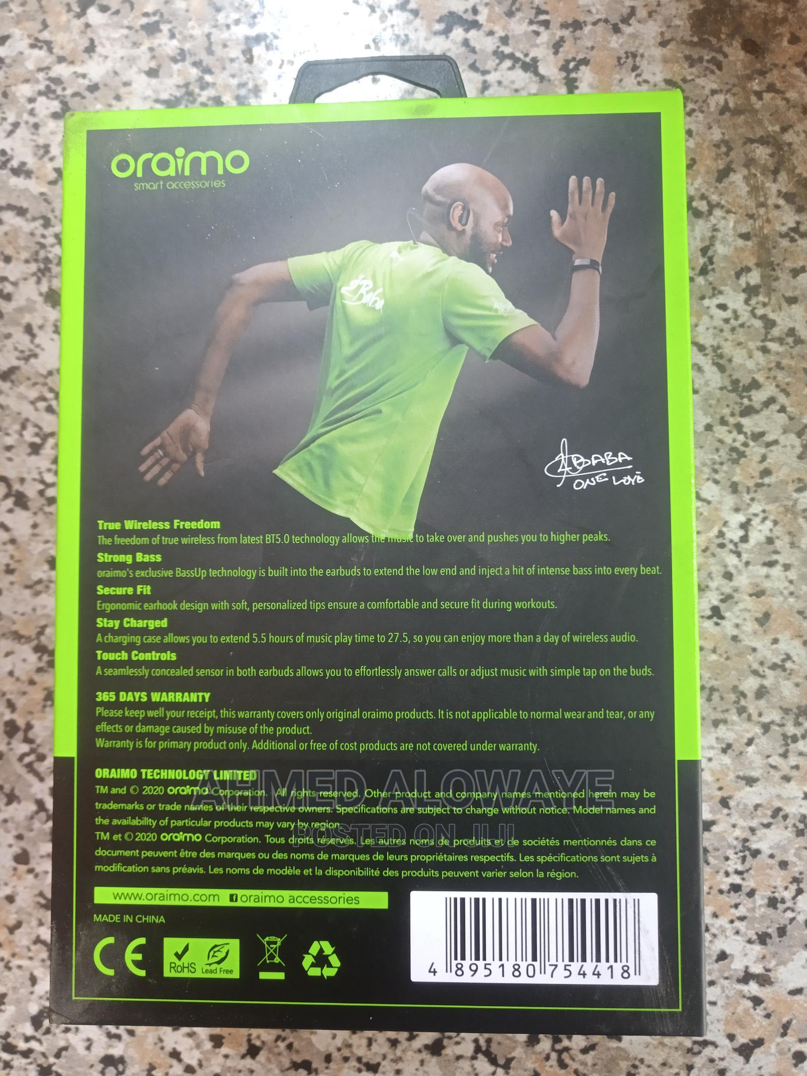 Archive: Oraimo Sportbuds
