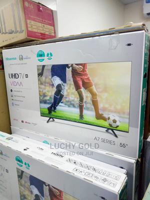 High Quality 55 Inches Hisense Tv   TV & DVD Equipment for sale in Abuja (FCT) State, Wuse
