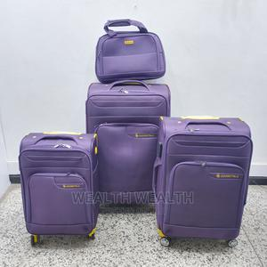 Standard Handle Purple Leaderpolo Luggage Bag | Bags for sale in Lagos State, Ikeja