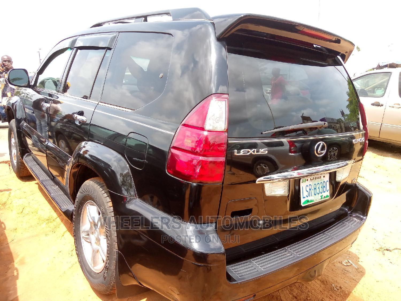 Lexus GX 2005 470 Sport Utility Black | Cars for sale in Amuwo-Odofin, Lagos State, Nigeria
