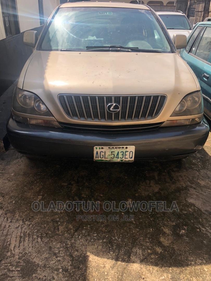 Lexus RX 2000 Gold   Cars for sale in Ikeja, Lagos State, Nigeria