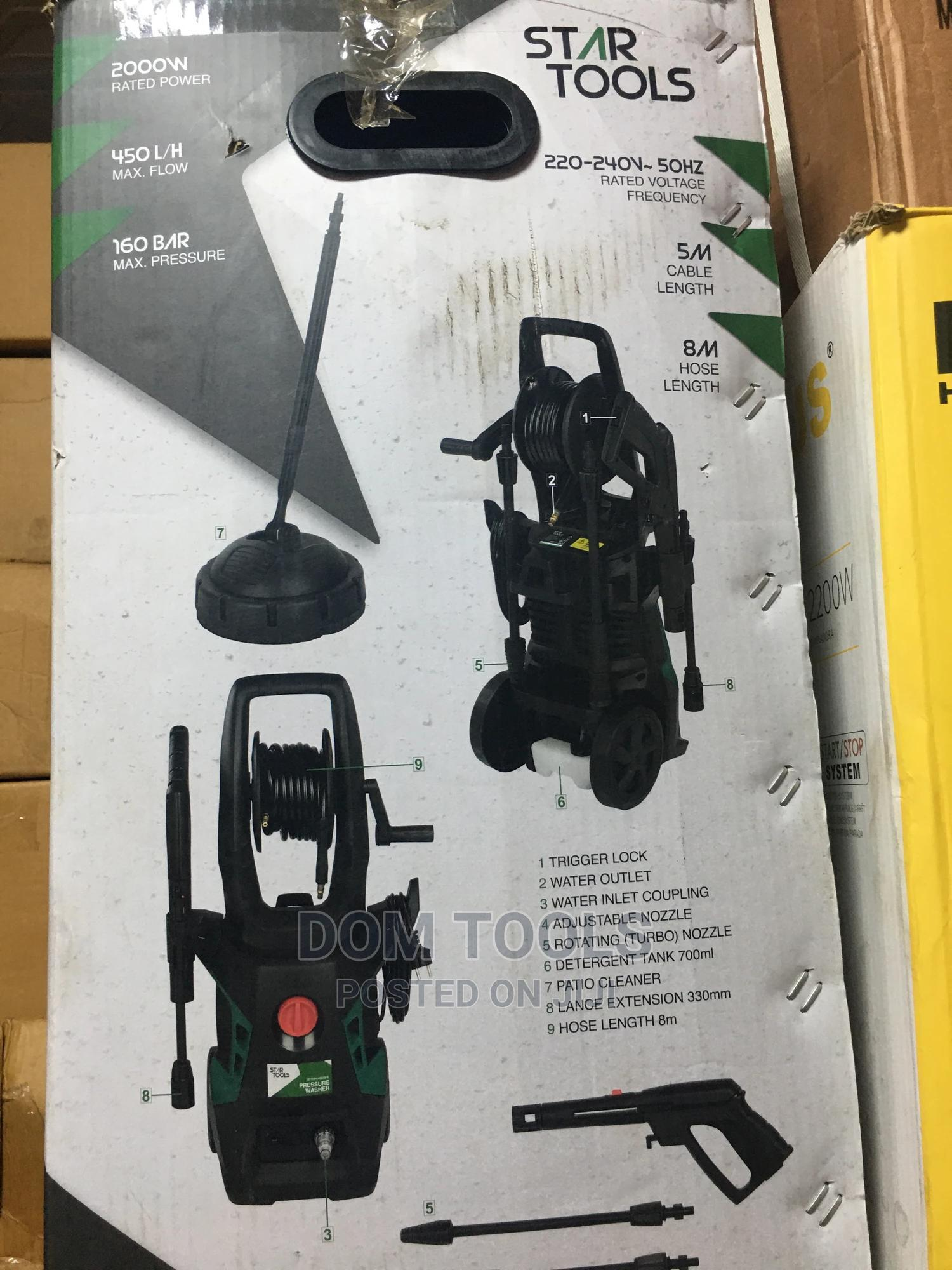 Electric Pressure Washer | Vehicle Parts & Accessories for sale in Ojo, Lagos State, Nigeria