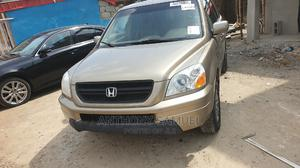 Honda Pilot 2005 Gold | Cars for sale in Lagos State, Alimosho