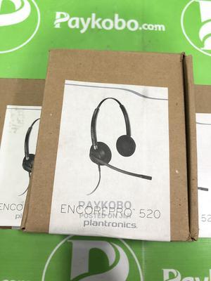 Plantronics Encorepro HW520 Headset   Headphones for sale in Lagos State, Ikeja