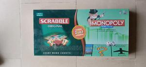 2in1 Game Monopoly and Scrabble   Books & Games for sale in Lagos State, Surulere