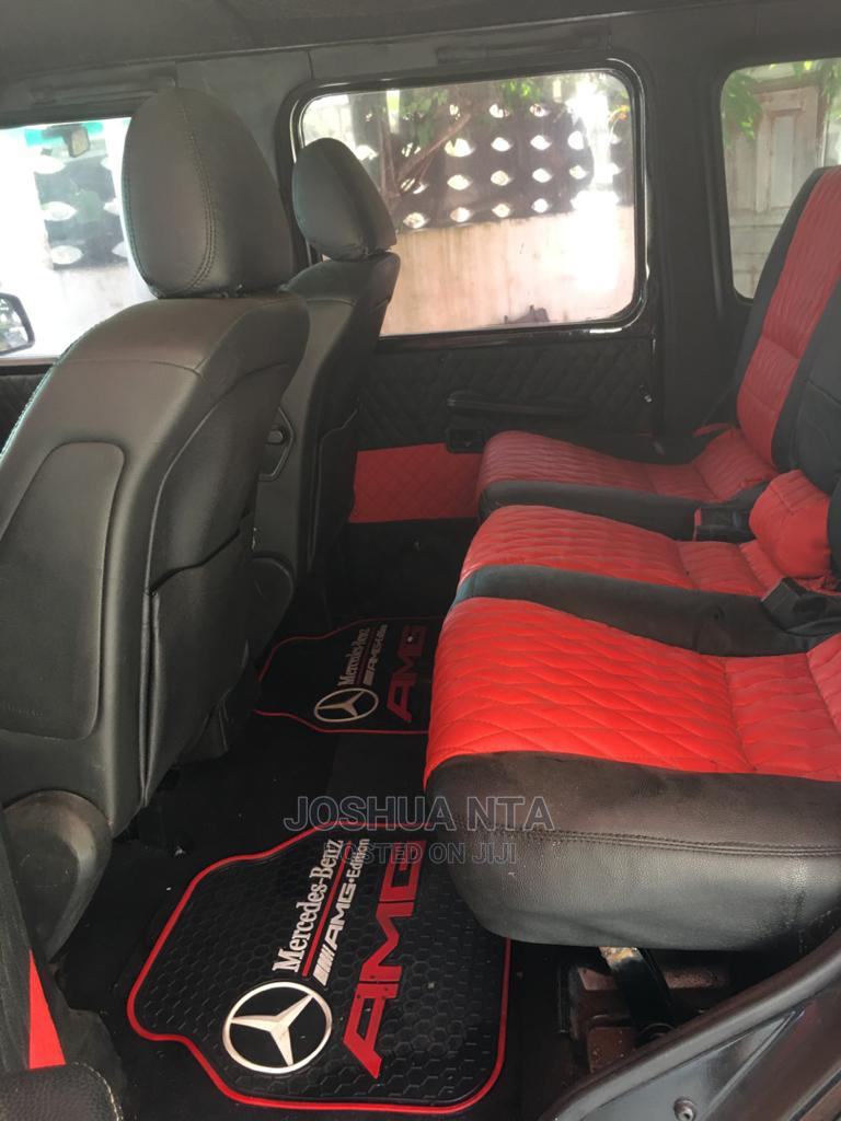 Mercedes-Benz G-Class 2002 Base G 500 AWD Black | Cars for sale in Lekki, Lagos State, Nigeria