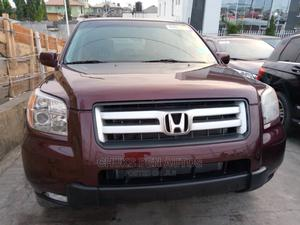 Honda Pilot 2008 EX 4x4 (3.5L 6cyl 5A) Red | Cars for sale in Lagos State, Ajah