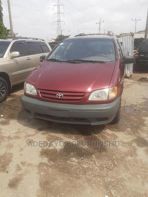 Toyota Sienna 2002 LE Red | Cars for sale in Lagos State, Ejigbo