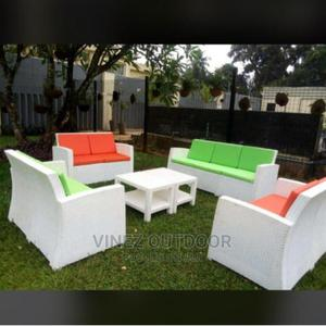 Outdoor/Indoor Rattan Sofa Set | Furniture for sale in Lagos State, Ojo