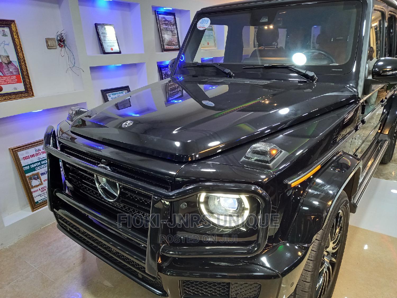 Archive: Mercedes-Benz G-Class 2019 Base G 550 AWD Black