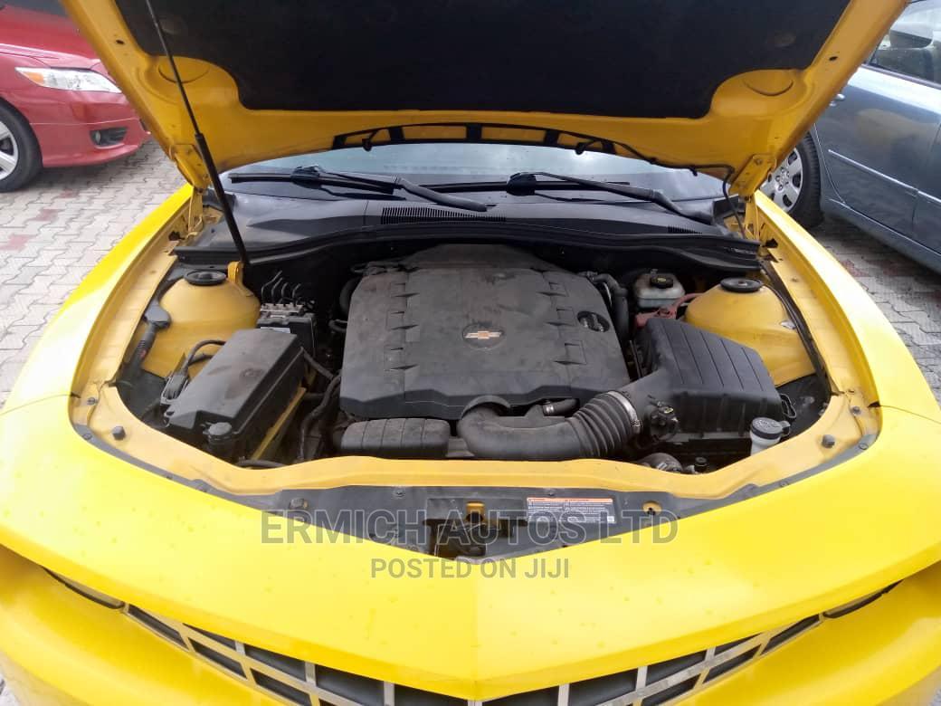 Chevrolet Camaro 2010 LS Yellow   Cars for sale in Warri, Delta State, Nigeria