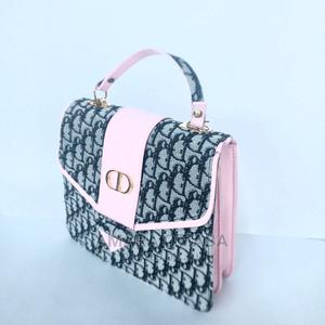 Pink and Black Handbag | Bags for sale in Lagos State, Ojo