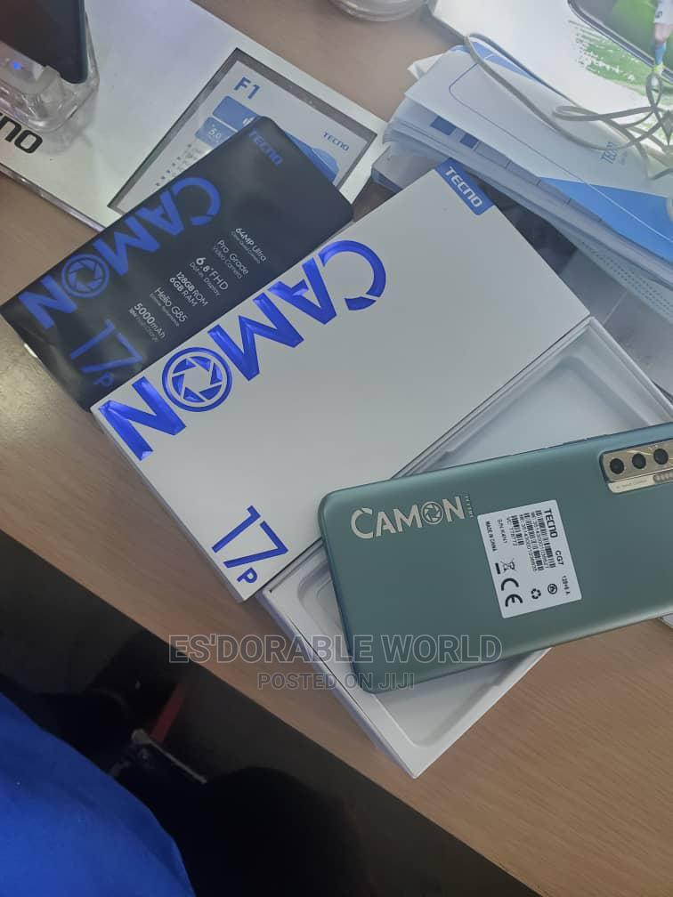 New Tecno Camon 17P 128 GB Silver