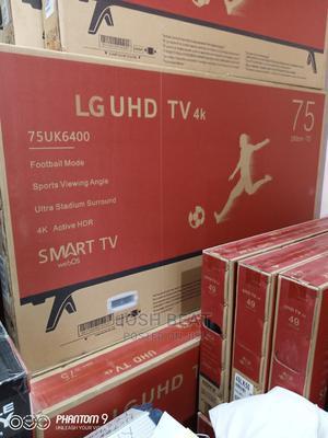 75inches LG UHD Tv4k Smart   TV & DVD Equipment for sale in Lagos State, Lekki