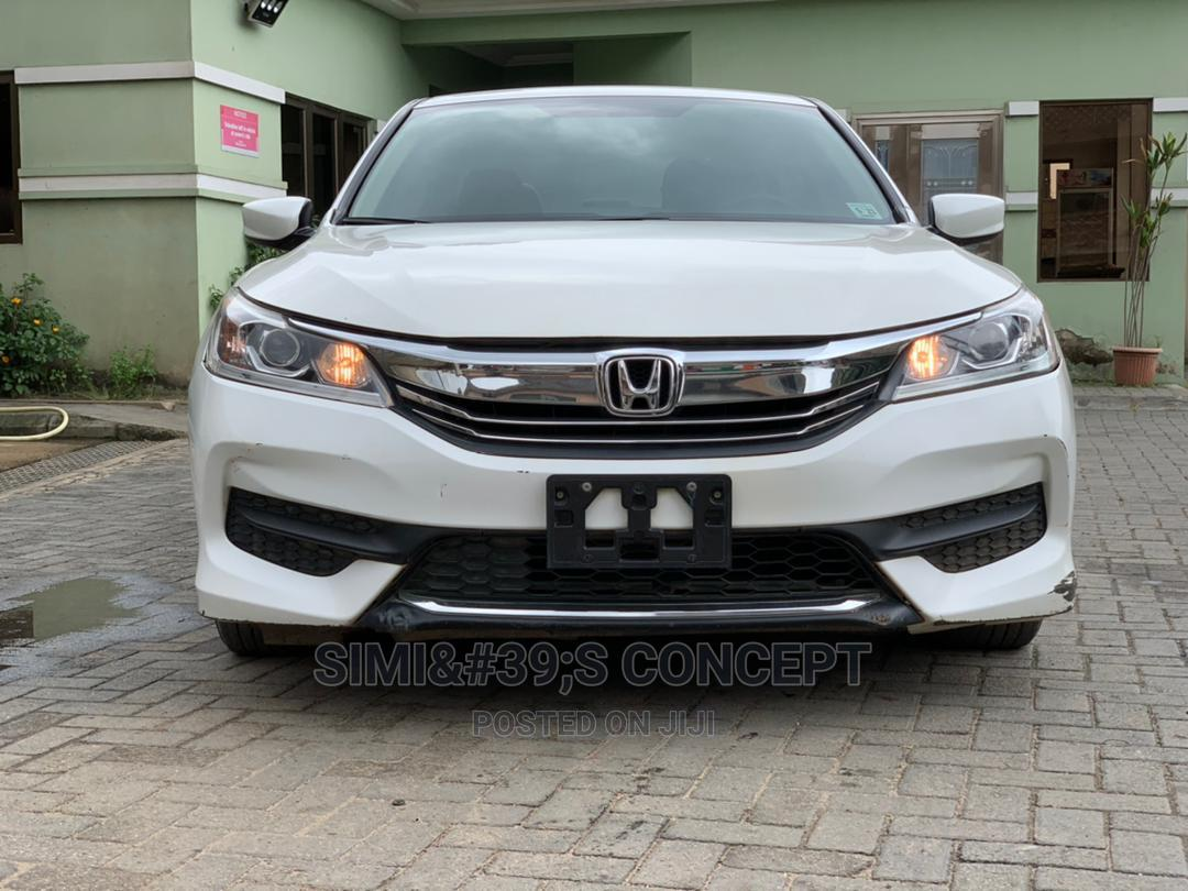 Honda Accord 2016 White