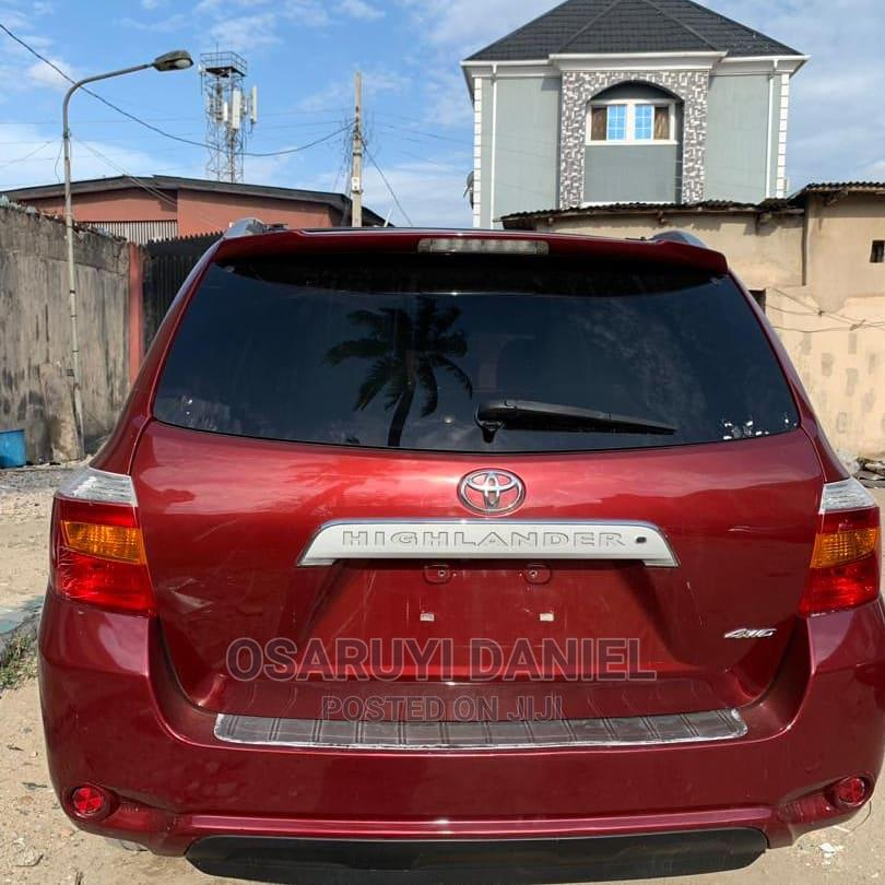Toyota Highlander 2010 Limited Red | Cars for sale in Isolo, Lagos State, Nigeria