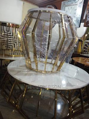 Beautiful Center Table With Side Stools   Furniture for sale in Lagos State, Ikeja