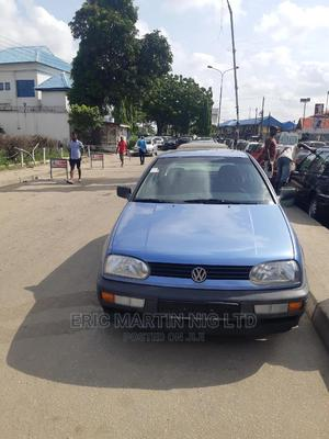 Volkswagen Golf 1999 2.0 Blue | Cars for sale in Lagos State, Surulere