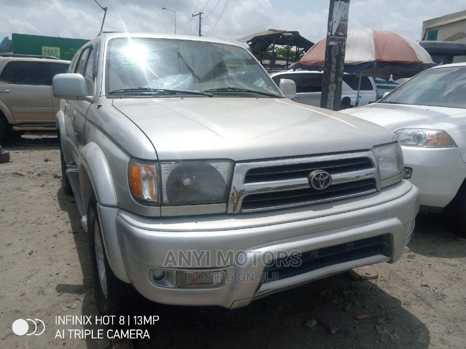 Archive: Toyota 4-Runner 2000 Silver