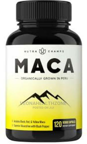 Nutra Champs Organic Maca Root Powder Capsules | Vitamins & Supplements for sale in Lagos State, Maryland
