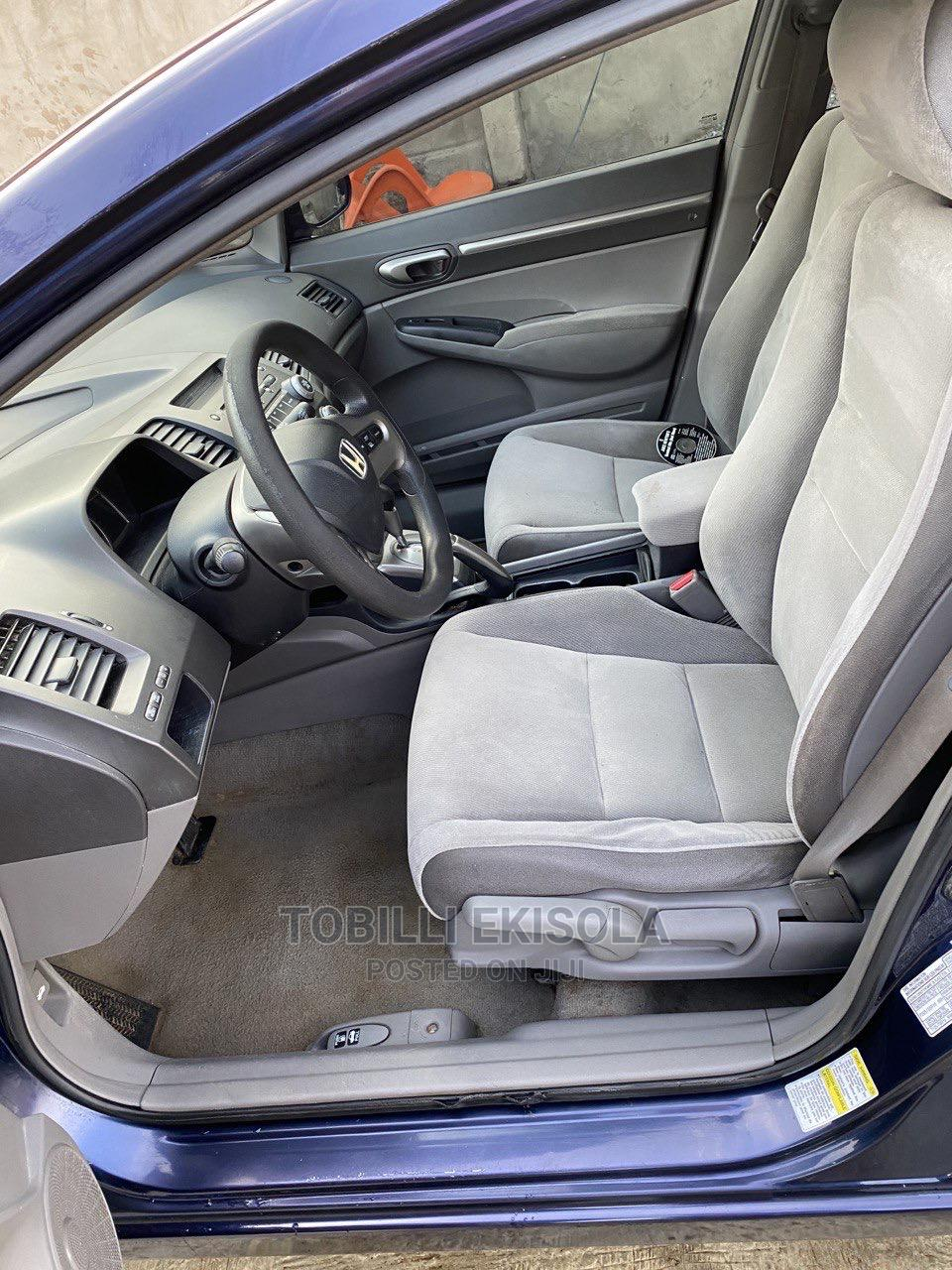 Honda Civic 2007 1.8 Sedan EX Automatic Blue | Cars for sale in Alimosho, Lagos State, Nigeria