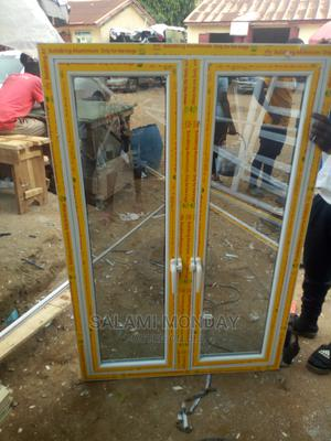 Aluminum Casement Window With Solid King Material   Windows for sale in Abuja (FCT) State, Jabi