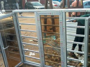Aluminum Casement Window With Burglary   Windows for sale in Abuja (FCT) State, Jabi