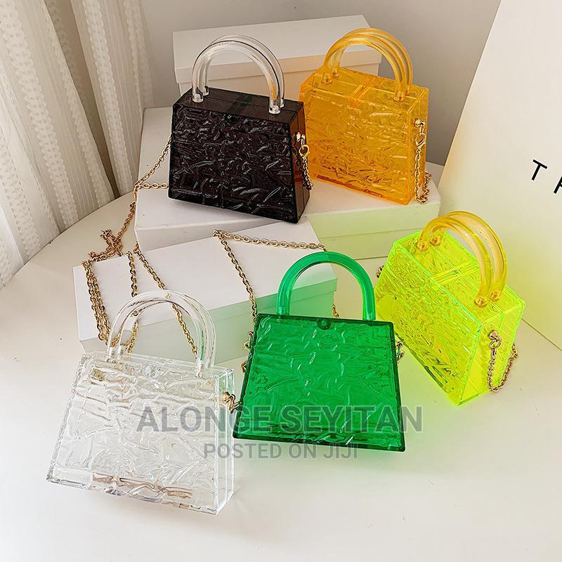 Coloured Acrylic Bags