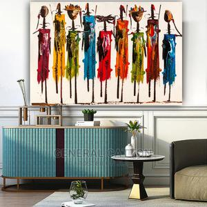 CHENFART Modern Art Colorful Abstract   Arts & Crafts for sale in Lagos State, Victoria Island