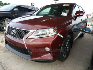 Lexus RX 2014 350 F Sport AWD Red | Cars for sale in Lagos State, Apapa