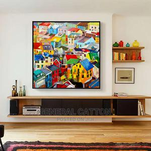 Artist Hand-Painted High Quality Rich Colors Abstract   Arts & Crafts for sale in Lagos State, Victoria Island