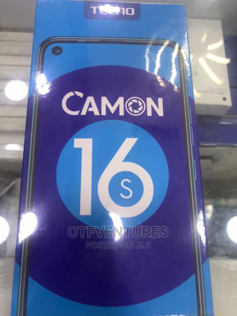 New Tecno Camon 16S 128 GB Black