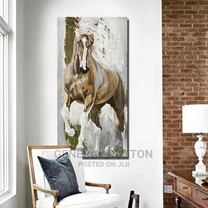 SELFLESSLY Vintage Horse Paintings Wall Decorative | Arts & Crafts for sale in Lagos State, Victoria Island