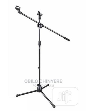 Boom Three Legs Microphone Stand | Accessories & Supplies for Electronics for sale in Lagos State, Mushin